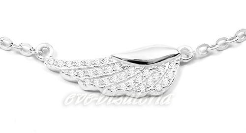 srebrny łańcuszek celebrytek